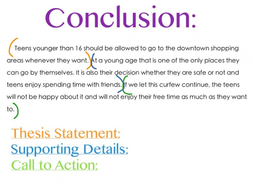 002 Essay Example 8clpwdaoh4 Conclusion In Shocking An Informative Analytical Purpose Of A