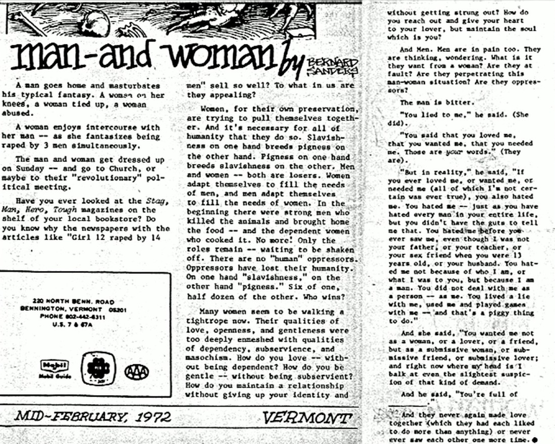 002 Essay Example Bernie Sanders Man Woman Lead Custom Phenomenal Rape Full