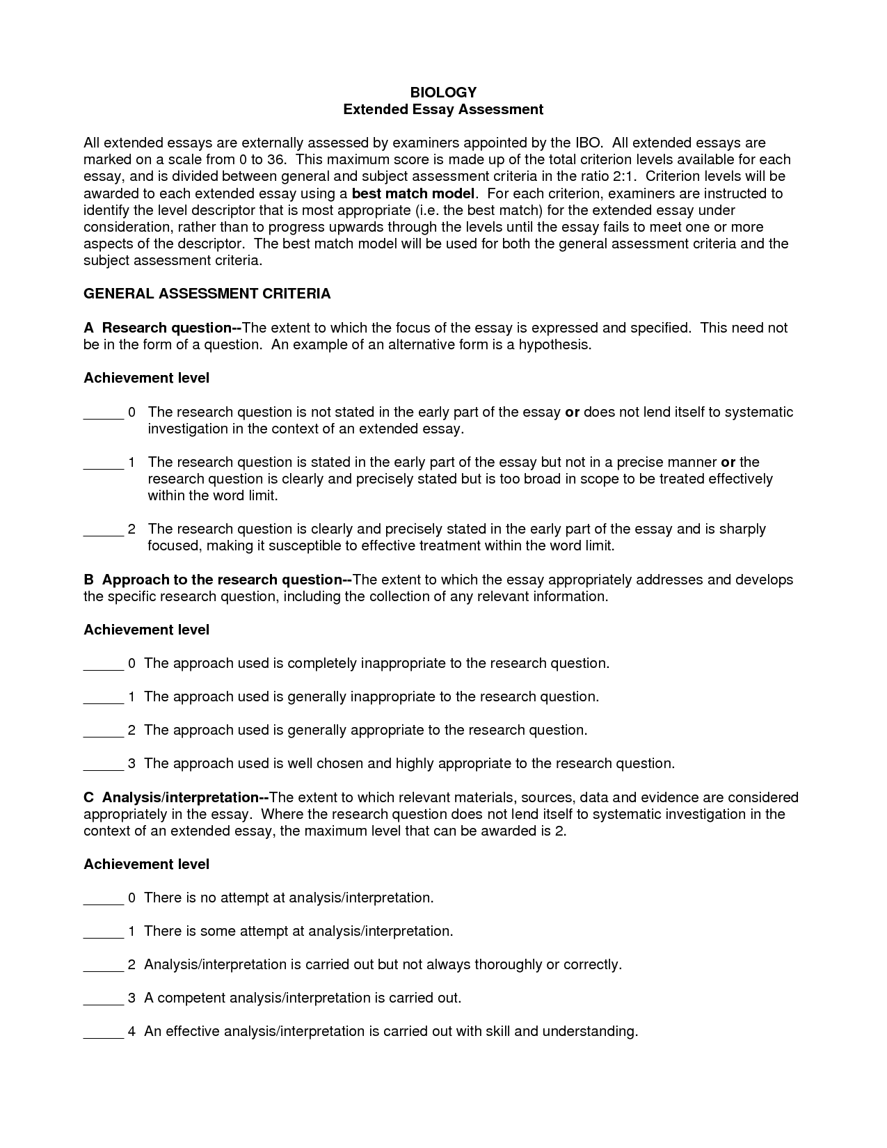 002 Essay Example Best Solutions Of Answer The Question Being Asked About Help With Biology Ib Creative Extended English Singular Topics Art Math Hl Sports Psychology Full