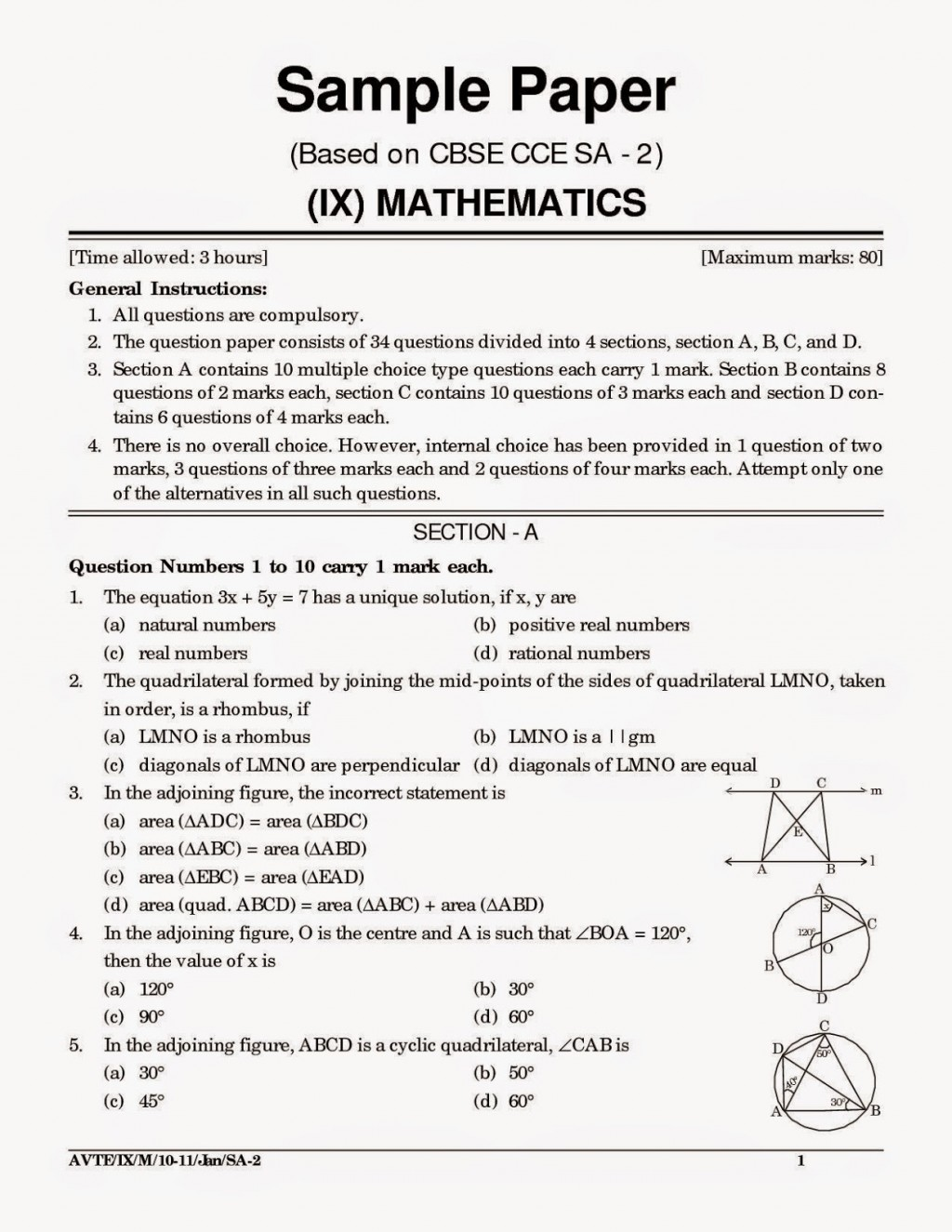 002 Essay Example Cbsesamplepapersforclass10mathematicsandscience Jpg Topics For Year Archaicawful 9 Questions Grade Olds Igcse Large