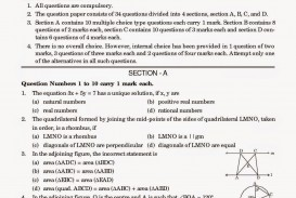 002 Essay Example Cbsesamplepapersforclass10mathematicsandscience Jpg Topics For Year Archaicawful 9 Questions Grade Olds Igcse