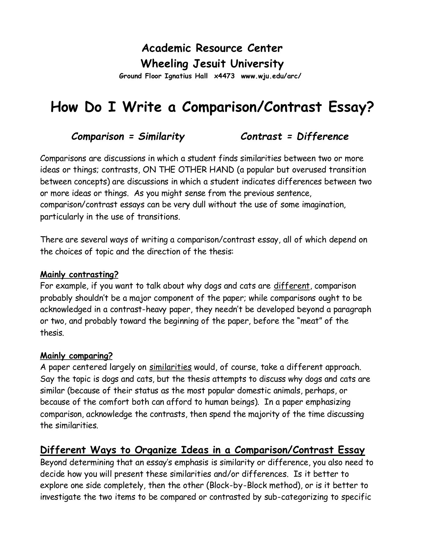 002 Essay Example Compare And Contrast Dog Excellent Cat Comparison Between Cats Dogs Pet Full