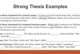 002 Essay Example Compare And Contrast Thesis Sample Paper Comparecontrast Statement For Argumentative On Social Media Remarkable Comparison Examples Template Ap World History