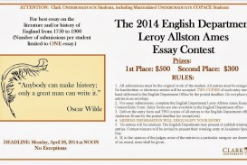 002 Essay Example Contests Imposing 2014 Maryknoll Contest Winners