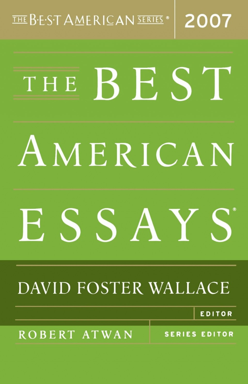002 Essay Example David Foster Wallace Singular On Television Consider Critical Essays This Is Water Large