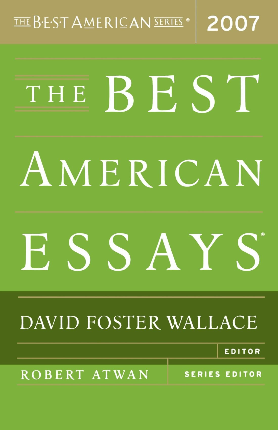 002 Essay Example David Foster Wallace Singular On Television Consider Critical Essays This Is Water Full