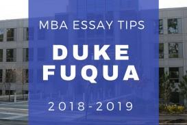 002 Essay Example Duke Mba Essays Fuqua Archaicawful Analysis Examples