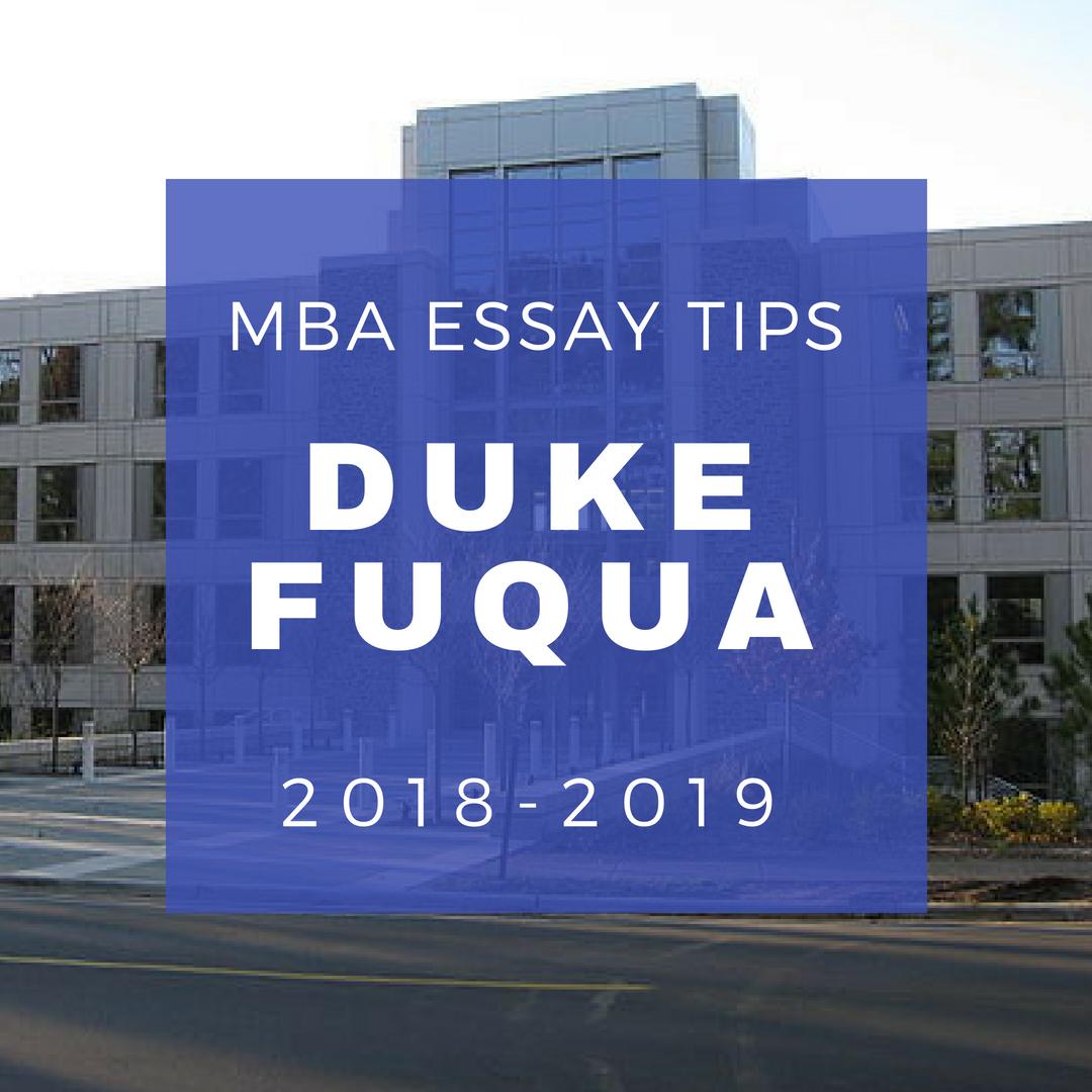 002 Essay Example Duke Mba Essays Fuqua Archaicawful Analysis Examples Full