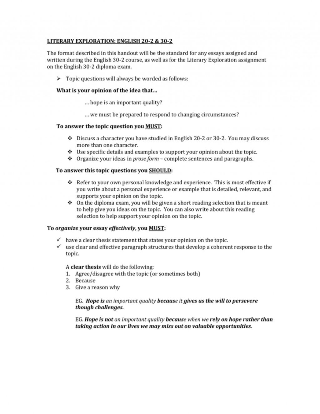 002 Essay Example English Examples Form 007481393 1 Wondrous 2 Large