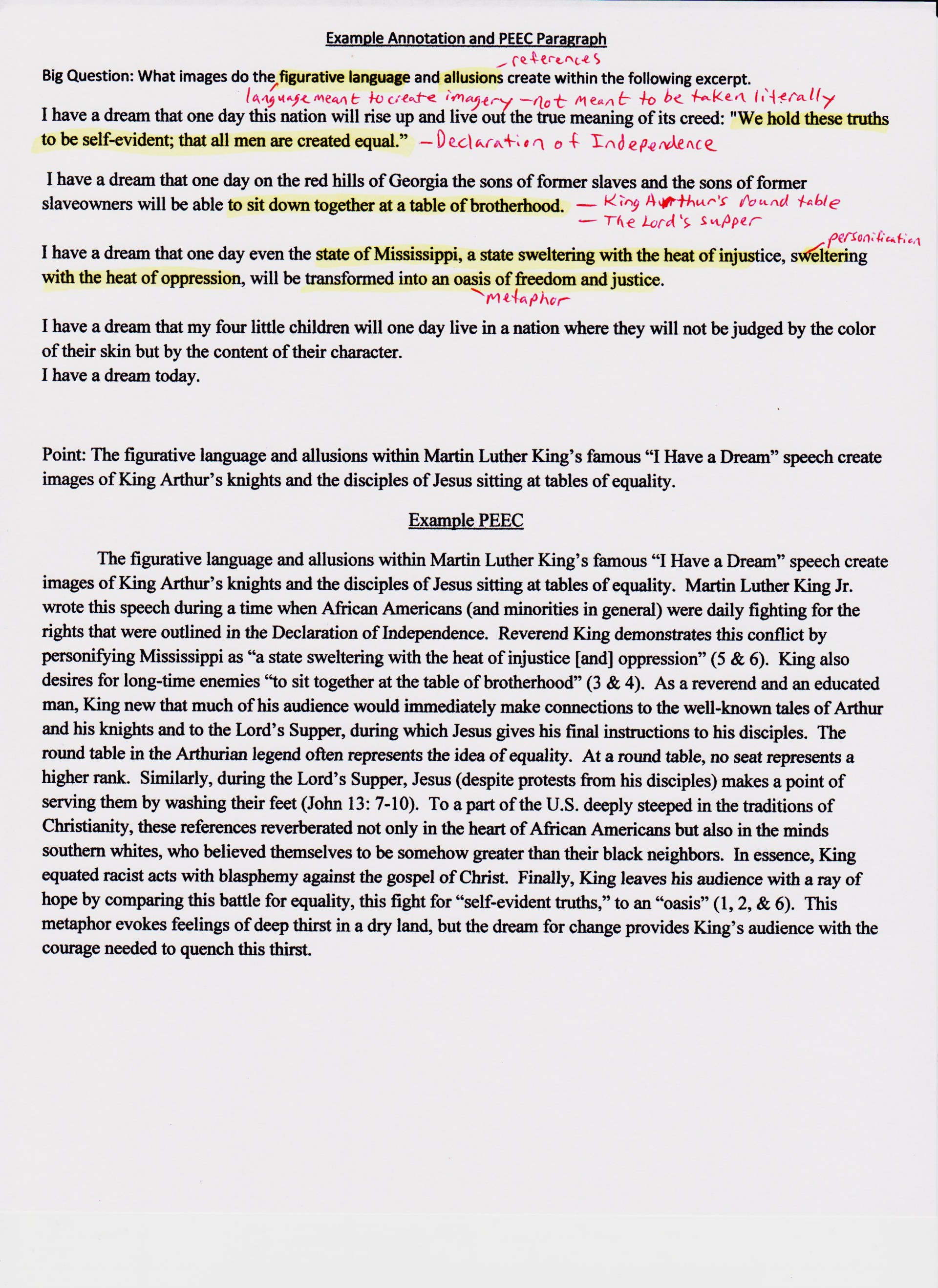 002 Essay Example Example20annotation20and20plea20001 Njhs Unbelievable Examples Character 1920