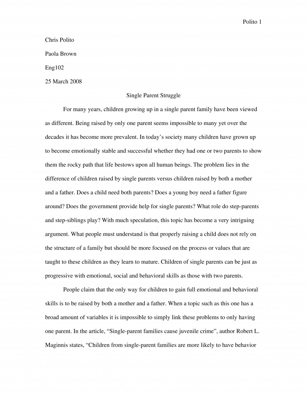 002 Essay Example Expository Sample 2 Examples Of Fantastic Essays For Middle School High Large