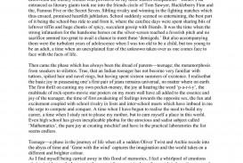 002 Essay Example Favorite Childhood Memories Researchmethodsweb L Unique Paragraph Introduction For Students