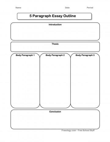 002 Essay Example Five Paragraph Graphic Wonderful Organizer High School Definition 5 Pdf 360