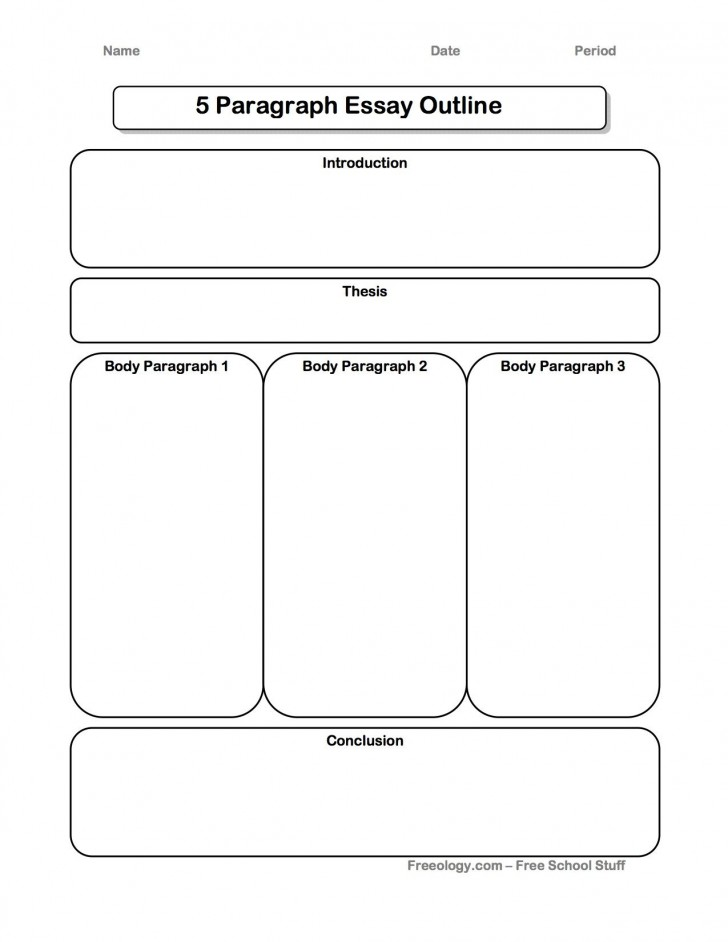 002 Essay Example Five Paragraph Graphic Wonderful Organizer High School Definition 5 Pdf 728