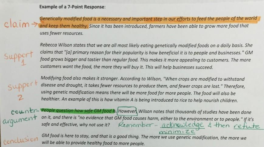 002 Essay Example Gmo Argumentative Response Wondrous Crops Genetically Modified Food Persuasive Outline