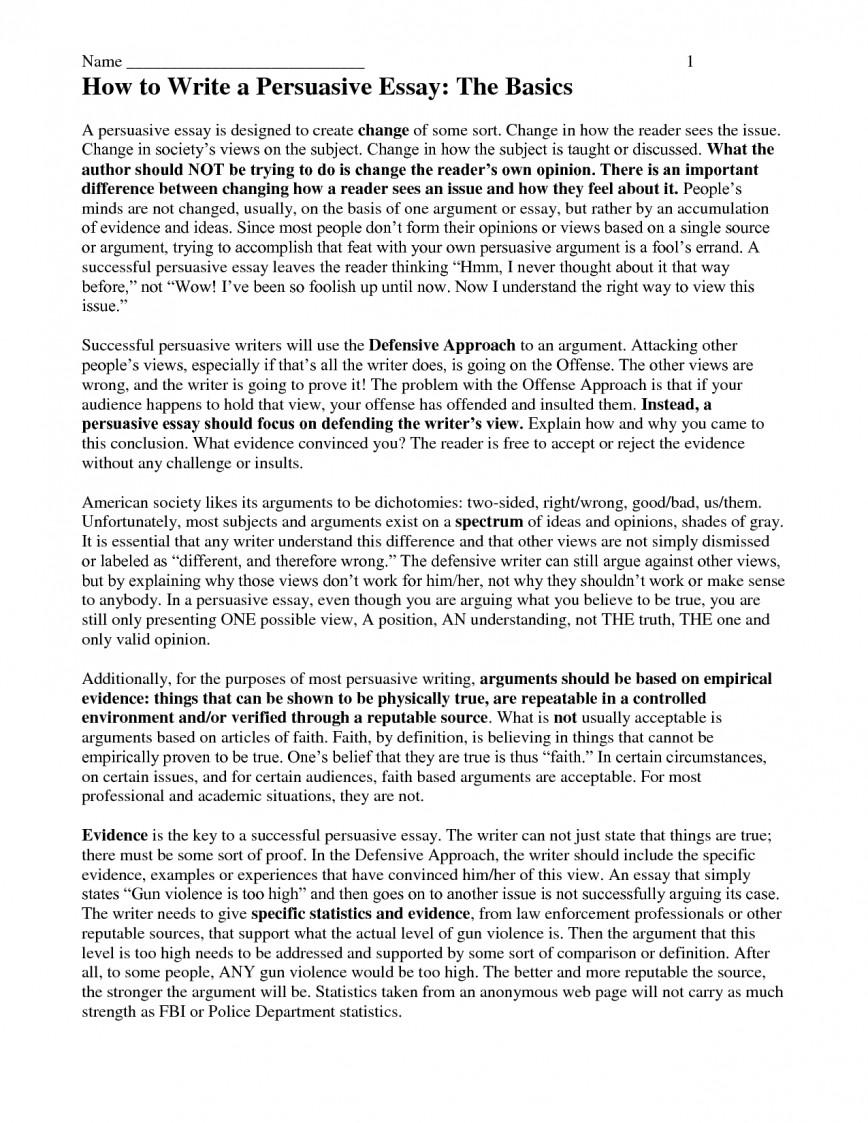 002 Essay Example Gun Control Persuasive Thesis Statement On Template Fantastic Argumentative Outline Against