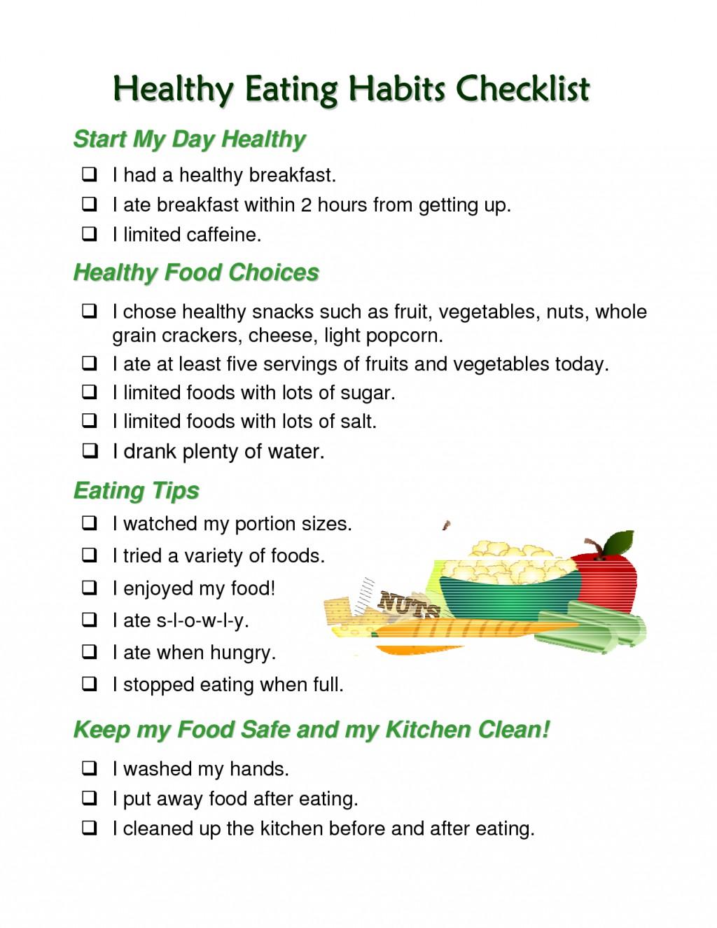 002 Essay Example Healthy Impressive Eating Topics Spm Habits Pdf Large