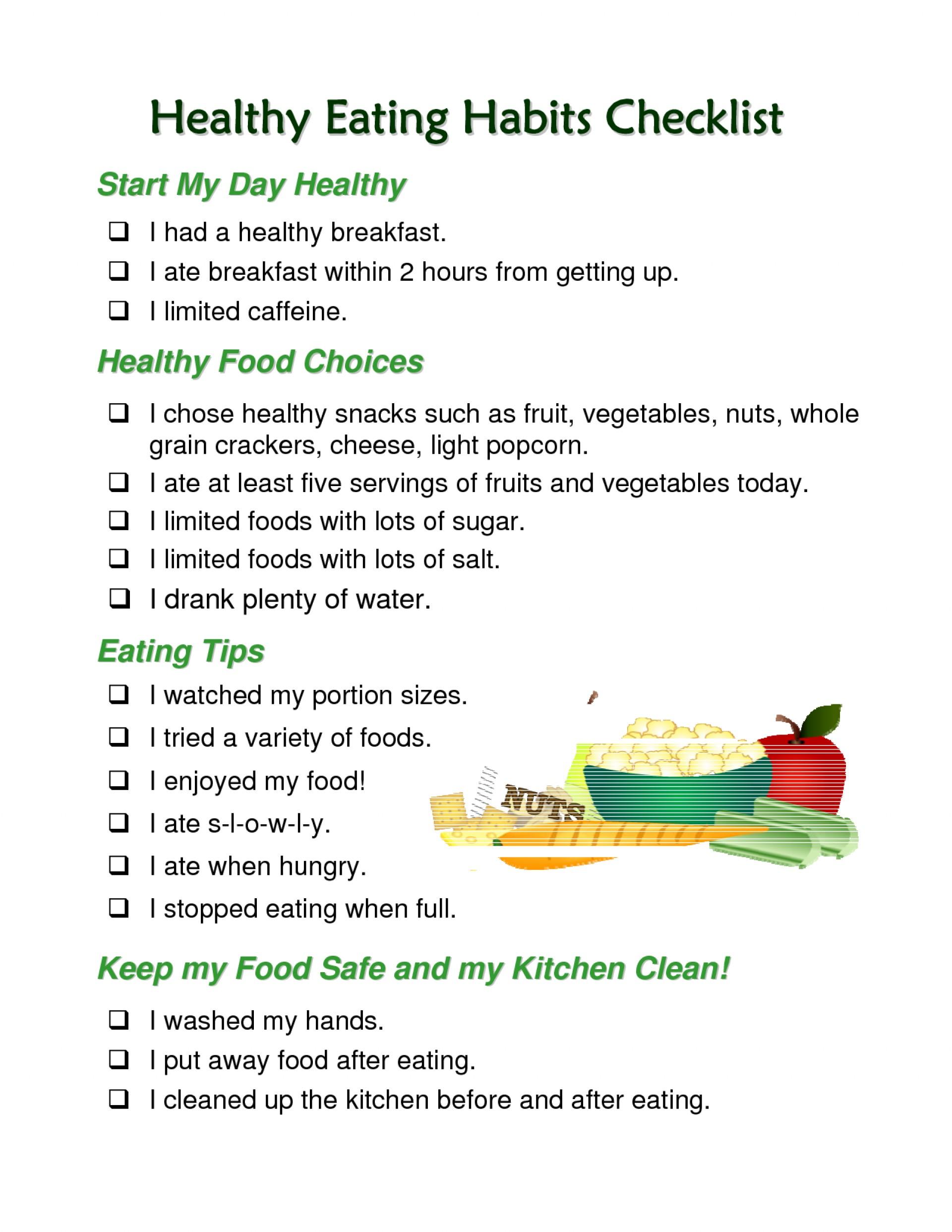 002 Essay Example Healthy Impressive Eating Topics Spm Habits Pdf 1920