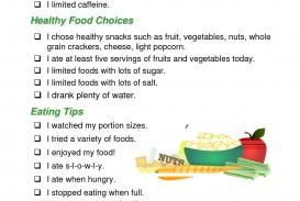 002 Essay Example Healthy Impressive Eating Topics Spm Habits Pdf