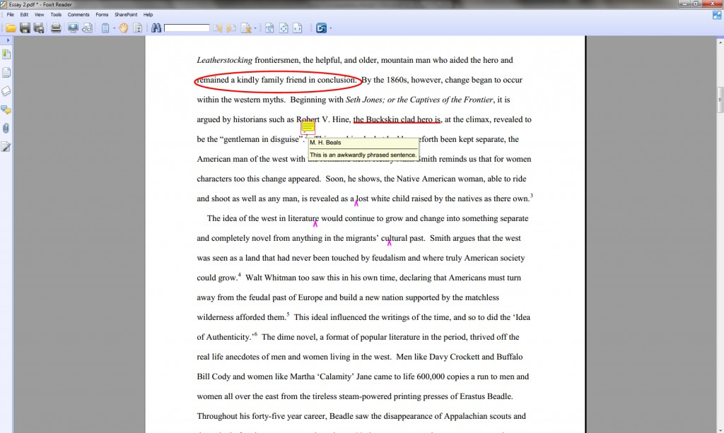 002 Essay Example How To Annotate An Wondrous A Movie In Critical Large