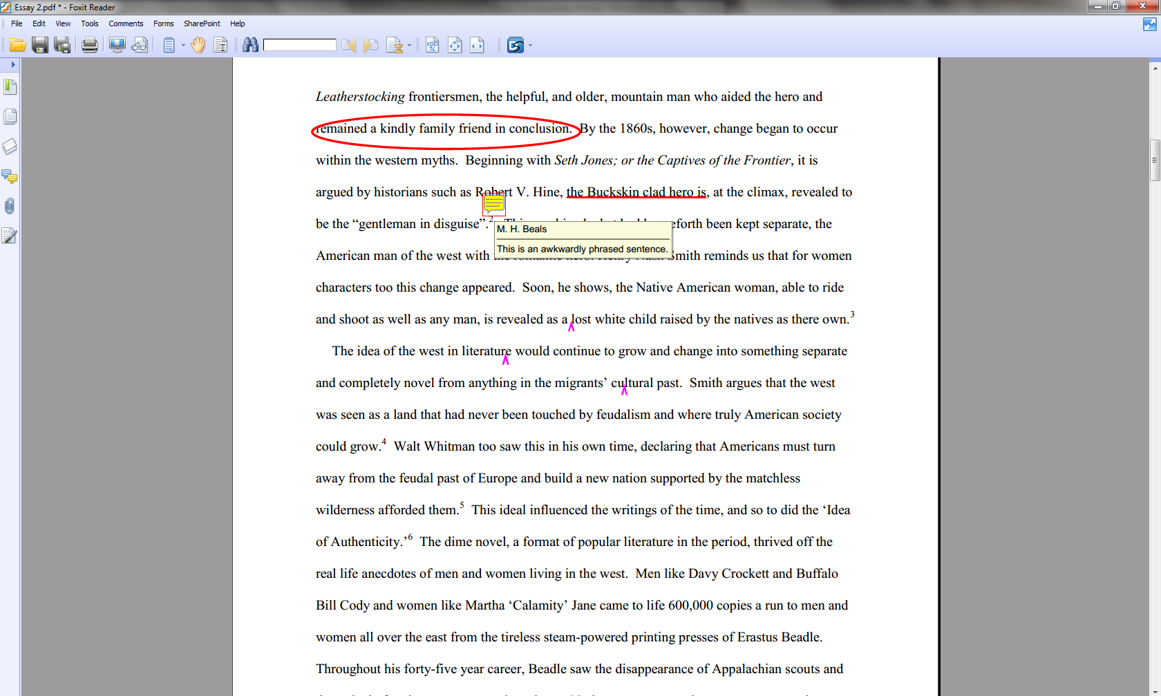 002 Essay Example How To Annotate An Wondrous A Movie In Critical Full