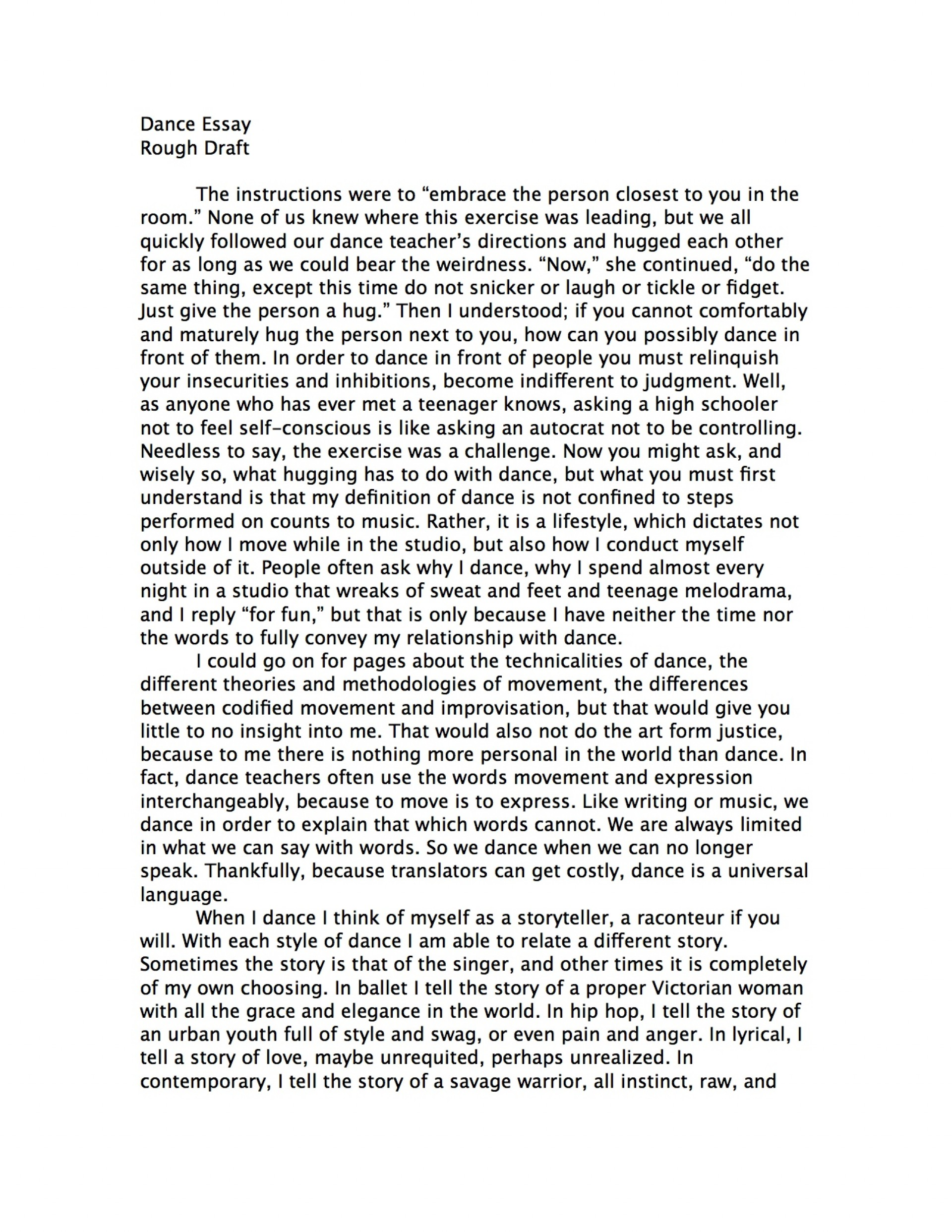 002 Essay Example How To Start Good Proposal Amazing College Essays Writing In About Failure Rebecca Nueman Dance Your Background Yourself Hook Off Examples Prompt Awesome A Paper For Introduction Biography 1920