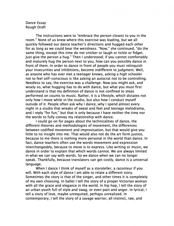 002 Essay Example How To Start Good Proposal Amazing College Essays Writing In About Failure Rebecca Nueman Dance Your Background Yourself Hook Off Examples Prompt Awesome A Sentence For Introduction 728