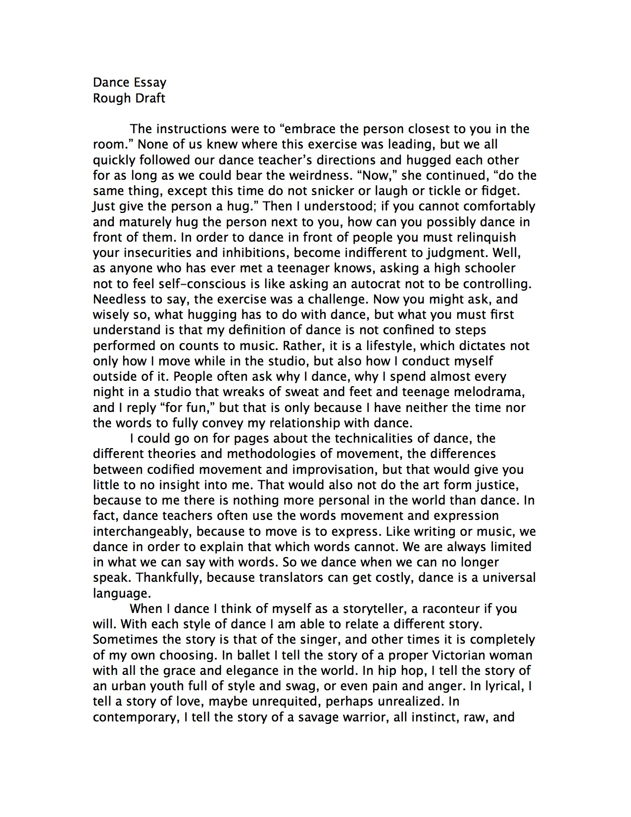 002 Essay Example How To Start Good Proposal Amazing College Essays Writing In About Failure Rebecca Nueman Dance Your Background Yourself Hook Off Examples Prompt Awesome A Paper For Introduction Biography Full