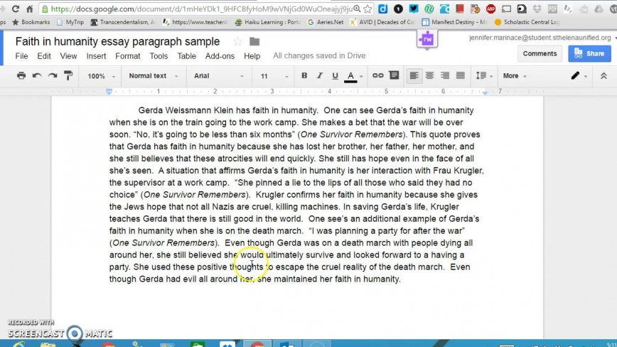 002 Essay Example Humanity Astounding Writing Short On In Telugu Language Crimes Against Topics