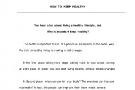 002 Essay Example Importance Of Healthy Living Essayhowtokeephealthy Phpapp02 Thumbnail Astounding