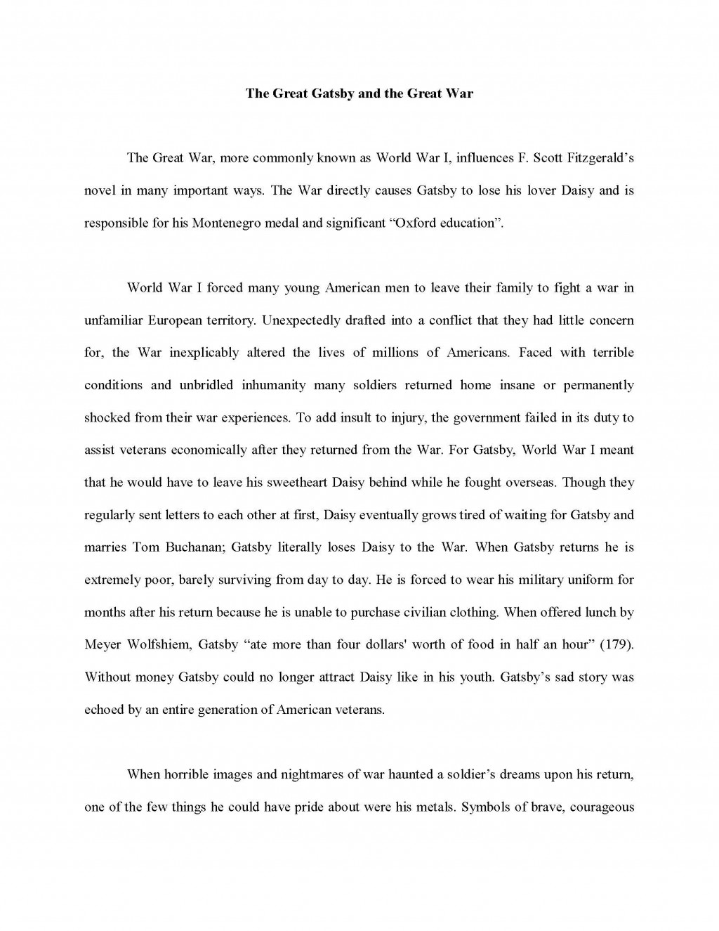 002 Essay Example Informative Sample Collage Unbelievable Examples Large