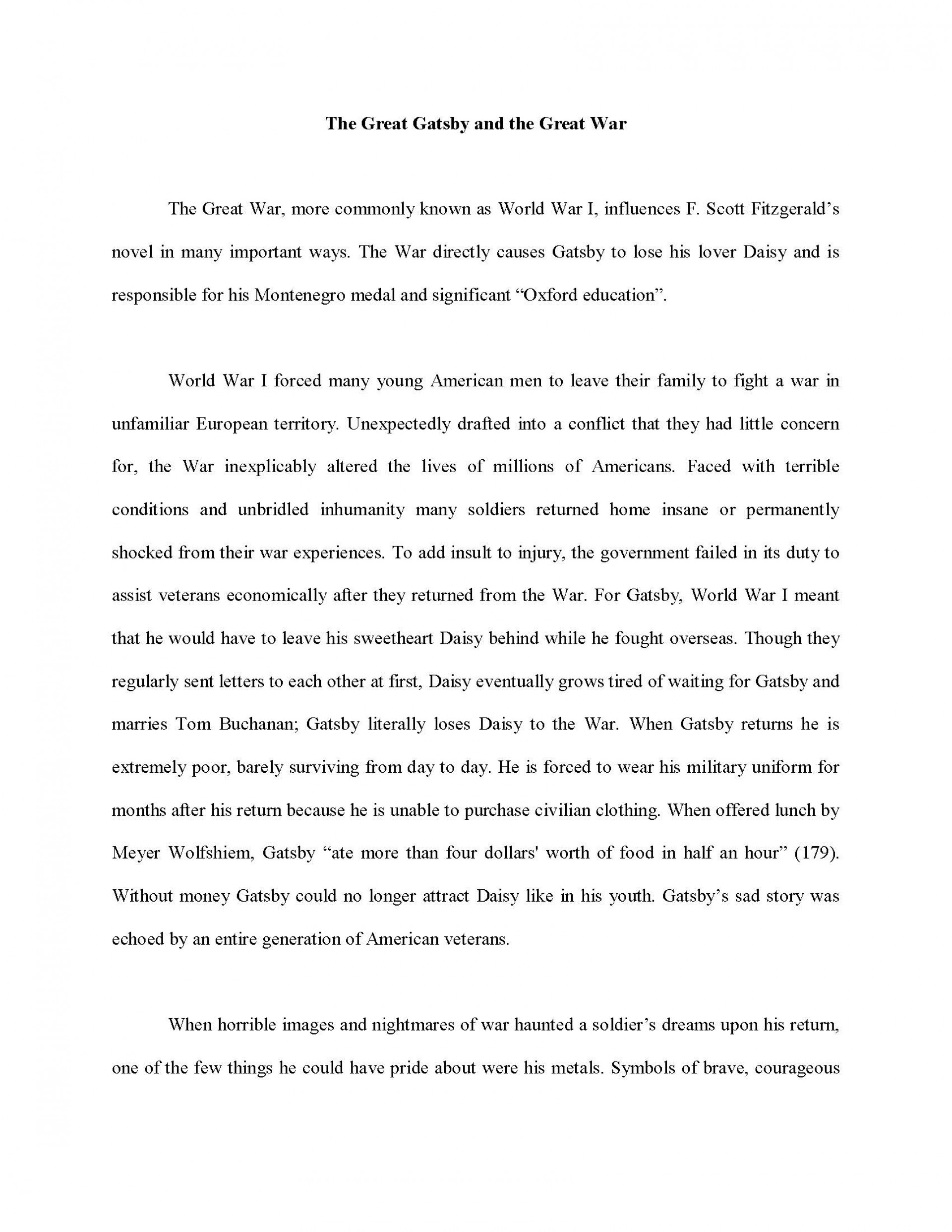 002 Essay Example Informative Sample Collage Unbelievable Examples 1920