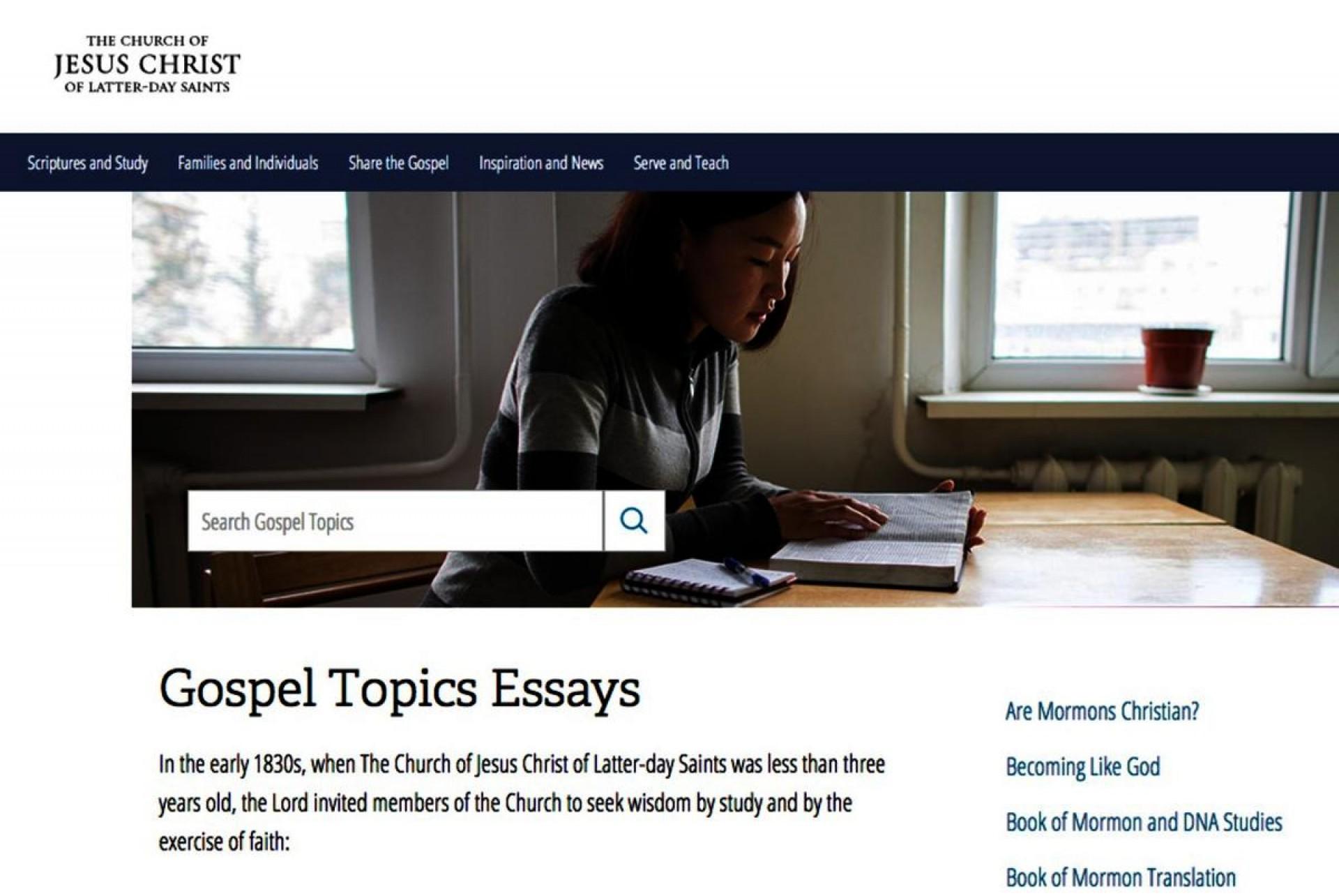 002 Essay Example Lds Unbelievable Essays Seer Stone Mother In Heaven Joseph Smith 1920