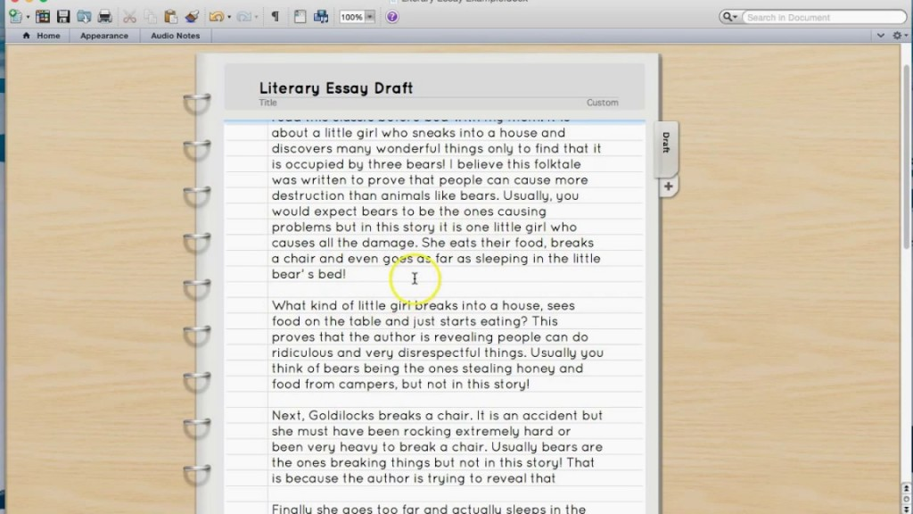 002 Essay Example Maxresdefault What Is Impressive A Literary About Theme Analysis Large