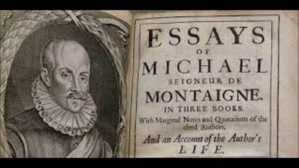 002 Essay Example Montaigne Essays Archaicawful Summary Online Pdf Large