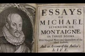 002 Essay Example Montaigne Essays Archaicawful Summary On Experience Quotes Best Translation