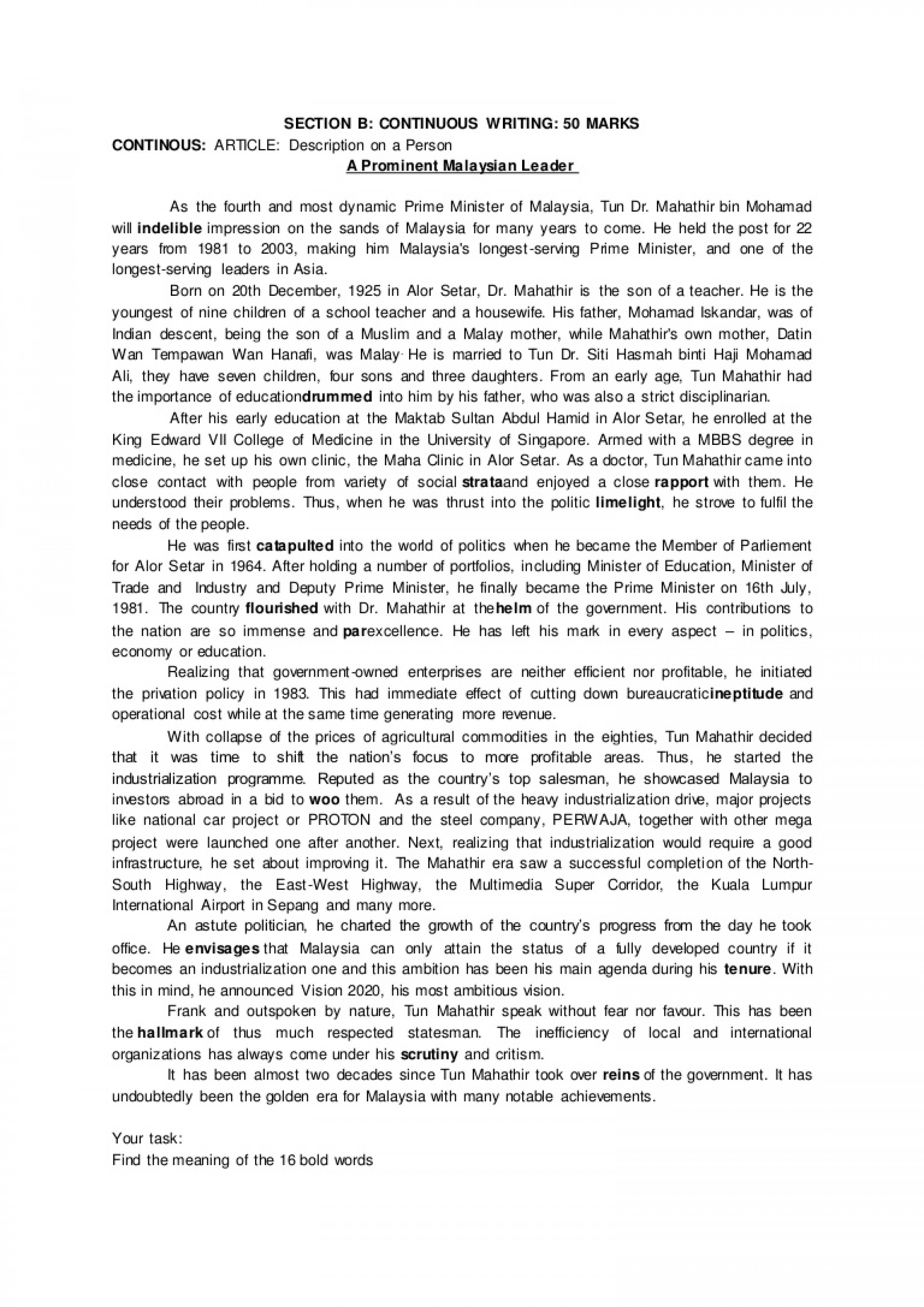 002 Essay Example Of My Hometown Write An About Your Pay For Geology Personal Writing Staggering Spm On Delhi Malaysia 1920