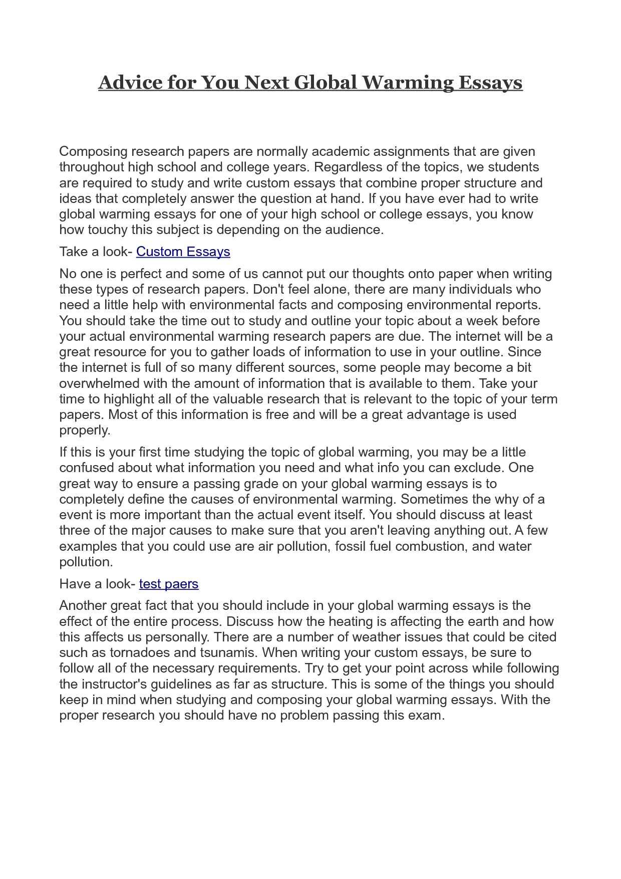 002 Essay Example On Global Warming Impressive With Introduction And Conclusion Greenhouse Effect In 600 Words Full