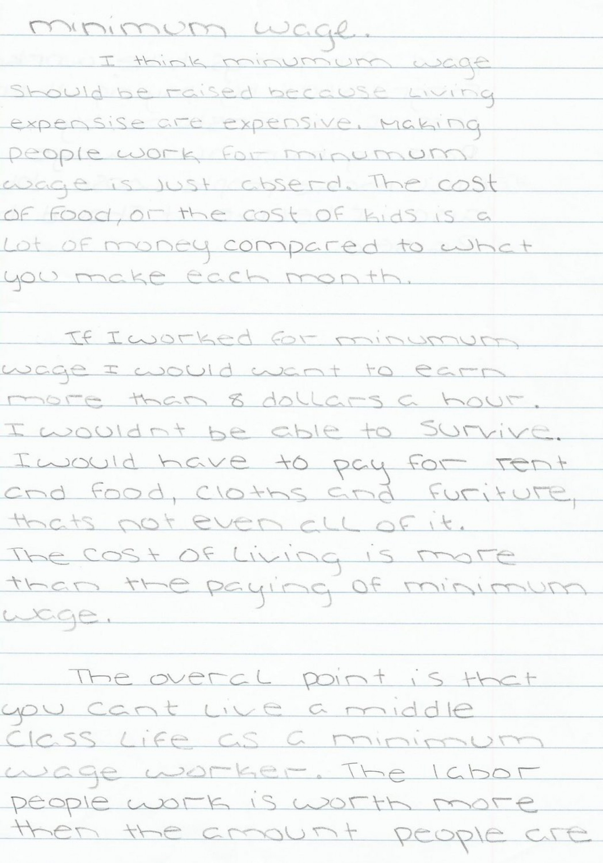 002 Essay Example On Minimum Wage Should Raised Write Schola Increase Argumentative Raising Beautiful Free 1920