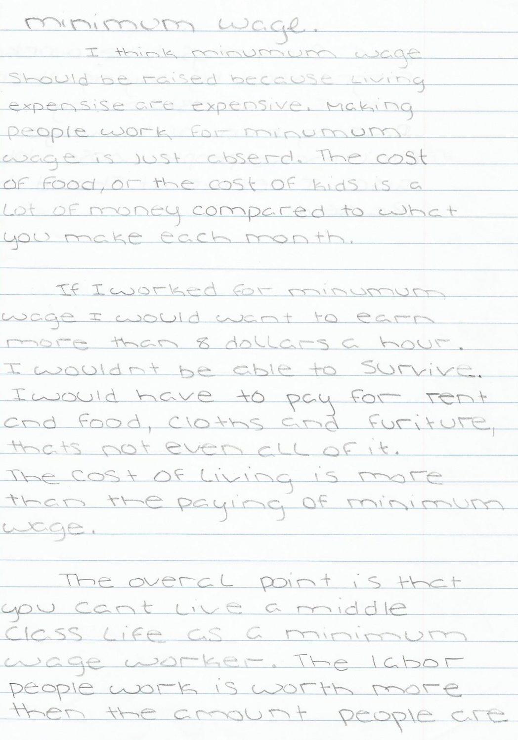 002 Essay Example On Minimum Wage Should Raised Write Schola Increase Argumentative Raising Beautiful Free Full