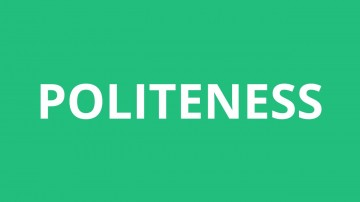 002 Essay Example On Politeness In Students Dreaded 360