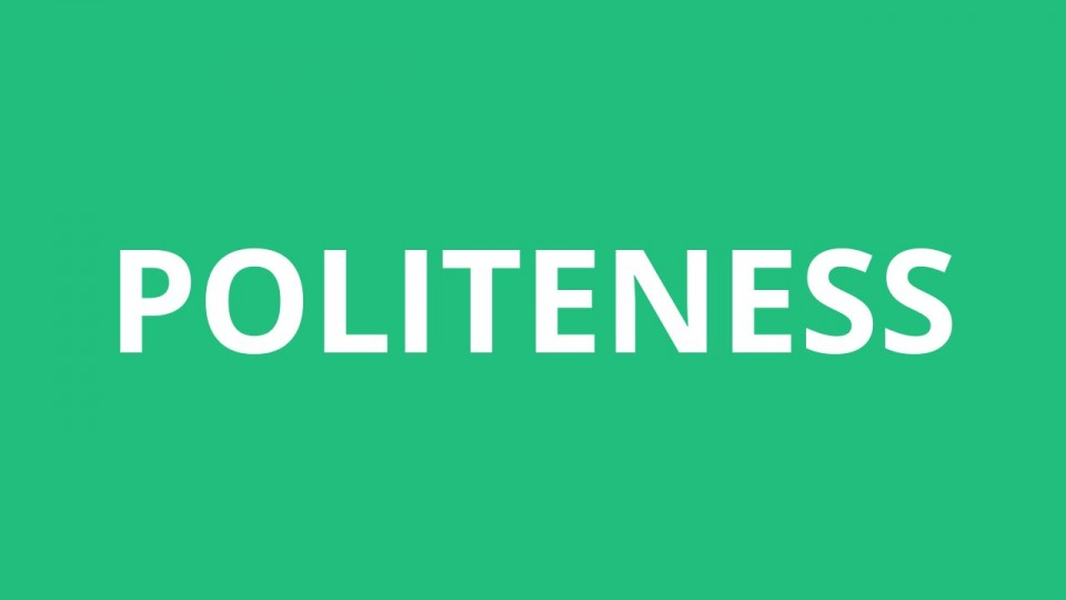 002 Essay Example On Politeness In Students Dreaded 960