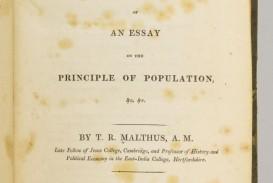 002 Essay Example On The Principle Of Population 5337830061 2 Singular Pdf By Thomas Malthus Main Idea