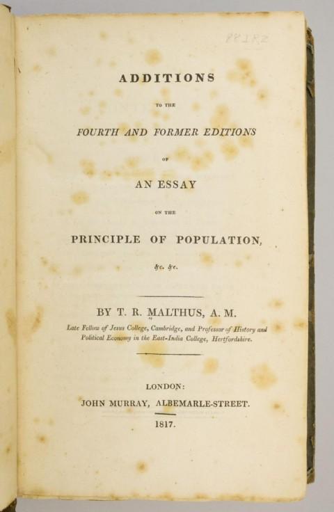 002 Essay Example On The Principle Of Population 5337830061 2 Singular Malthus Sparknotes Thomas Main Idea 480