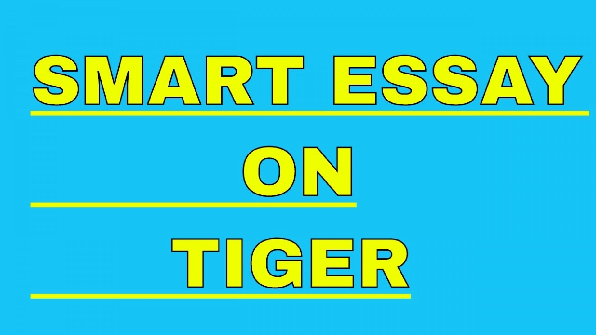 002 Essay Example On Tiger Astounding Shroff Hindi For Class 1 National Animal In 1920