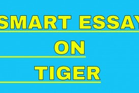 002 Essay Example On Tiger Astounding Shroff Hindi For Class 1 National Animal In