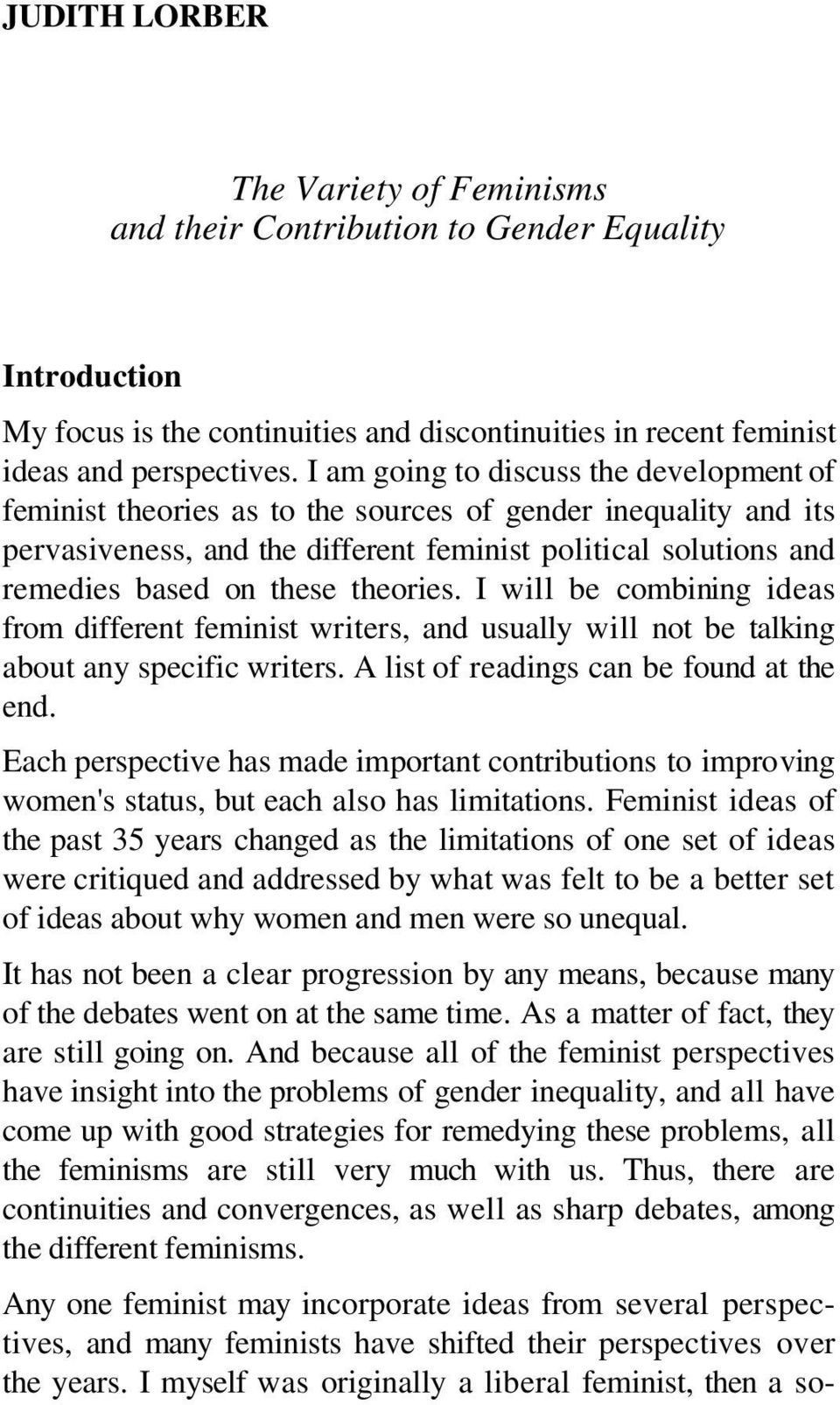 002 Essay Example Page 1 Formidable Equality Questions Gender Titles 960