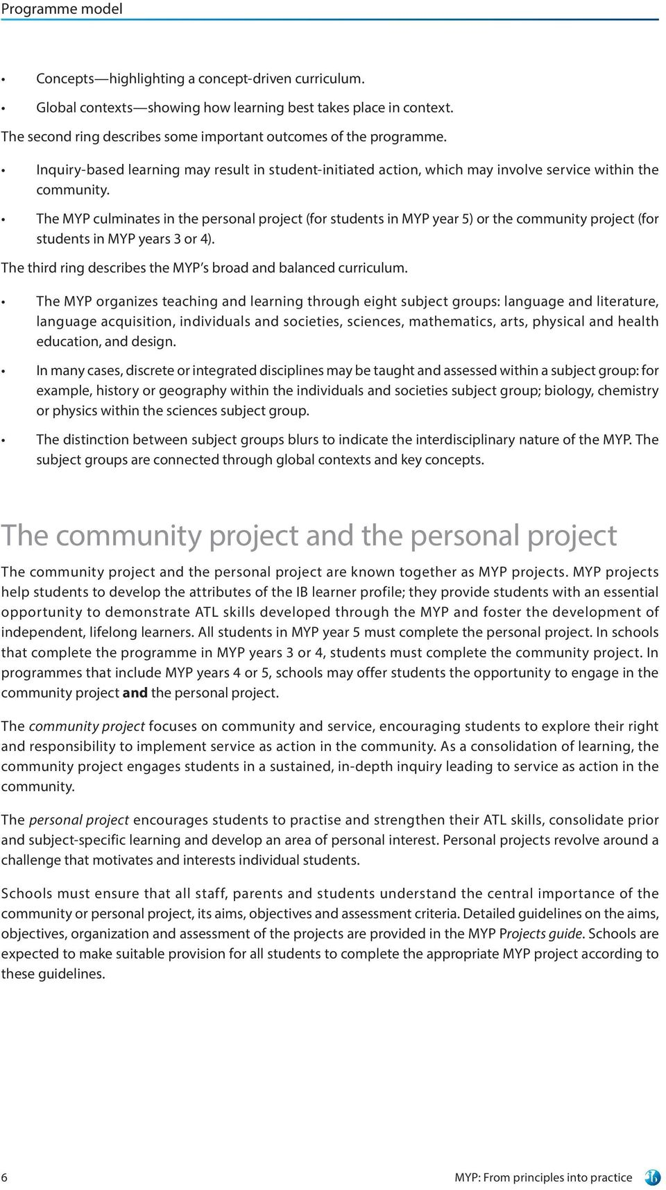 002 Essay Example Personal Project Guide Myp From Principles Into Practice For Use September Exceptional Full