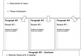 002 Essay Example Persuasive Graphic Organizer Amazing 3rd Grade 5th Middle School