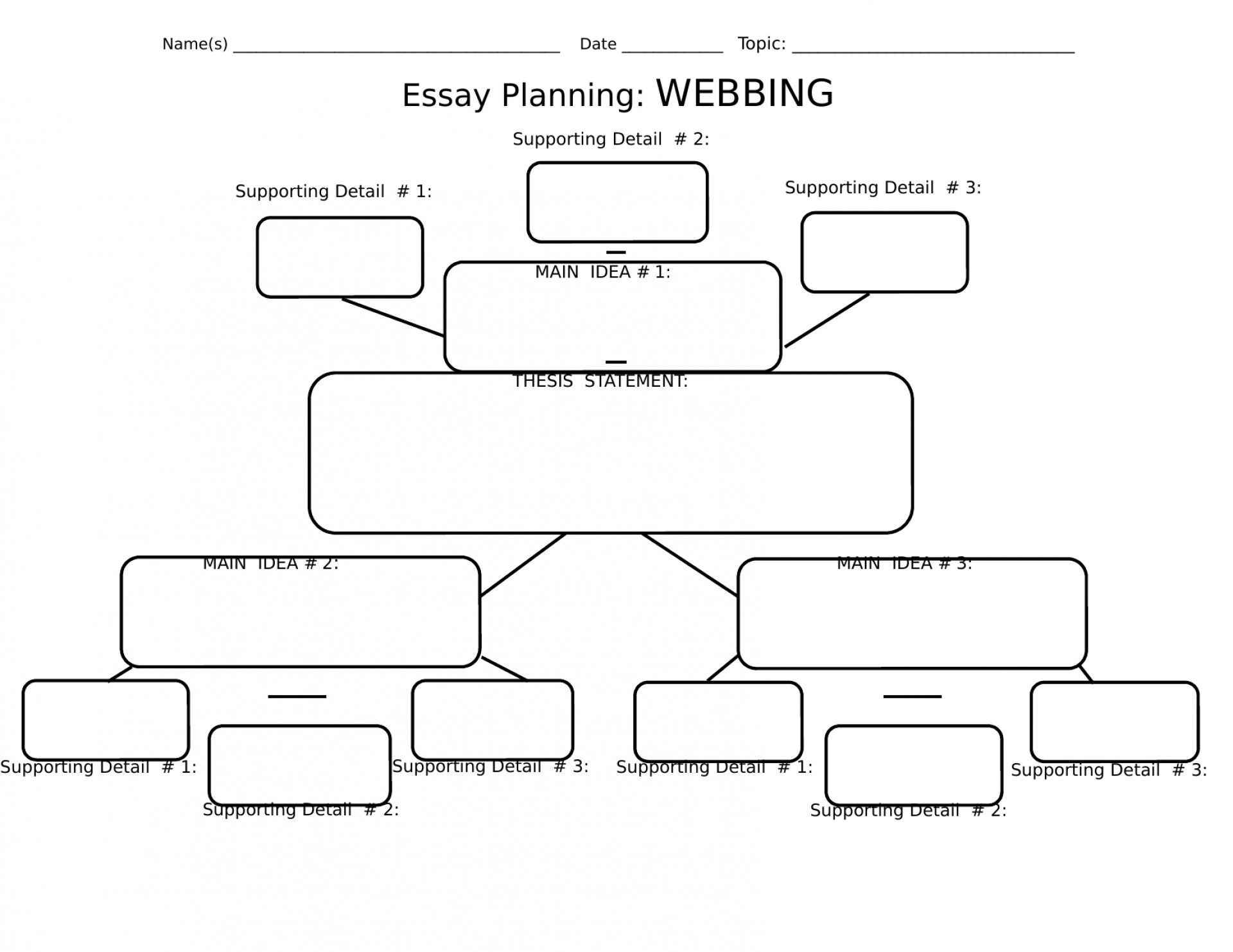 002 Essay Example Planning Sheet 48f818829e89 Original 1 Breathtaking Informative Printable 1920